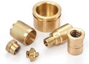 brass cnc machined parts